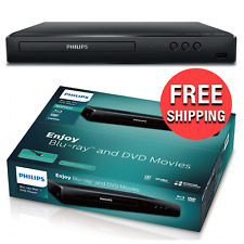 Philips Blu-Ray HD and DVD Player Entertainment Watching Movies Home Theater Exp