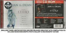 Jan & Dean Very Best Ultimate Greatest Hits Collection 60's Surfing CD + CD ROM