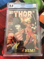 Thor #165 CGC 5.0 1969 1st full app. Adam Warlock (HIM) Marvel Comics GOTG