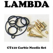 Carburetor Carbie Carby Rebuild Kit Set for Honda CT110 Postie Posty Bikes