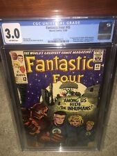 Fantastic Four #45 CGC 3.0 1965 1st Inhumans! Stan Lee! New Case! H3 210 cm