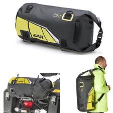 GIVI Borsone rullo impermeabile da sella o portapacchi 30 lt giallo fluo EA114BY