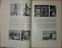 Rar! Riege: Handbewegliche Fördermittel 1959 Schubkarren Hebezeuge Kran Stapler
