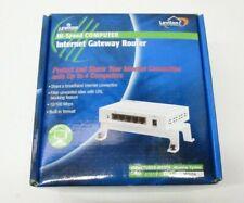 New Open Box Leviton Hi-Speed Computer Internet Gateway Router 47611-Gt4