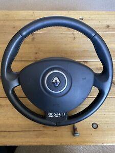 Renault Clio 197 Cup Breaking Steering Wheel And Air Bag
