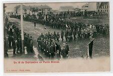 Chile Punta Arenas 18 de Septiembre Sandy Point circulated Ed. P. L. Ballester