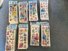 Disney Princess Stickers Sheets Buy 5 Get 5 Birthday Party Lolly Bags