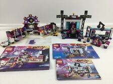 Lego Friends Bundle ~ Set 41104 + 41117 + 41103 ~ TV Studio + Stage + Back Stage