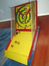 Rare Antique Vintage Ski-Bol Wood Skee Ball Game Carrom Hollywood Portable USA