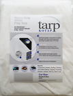 Kotap Trw-1620 Heavy-Duty 8-Mil Poly Tarp With Uv Protection, 16 Ft. X 20 Ft, Wh