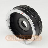 DSLRKIT Build in Aperture Mount Adapter fo Canon EOS EF to Fuji X-PRO1 X-E1 X-T1
