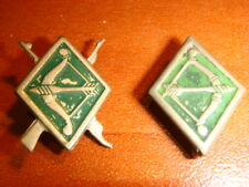 Israel GADNA Pre Military battalions , shooting contest 2 badges  Pin Army