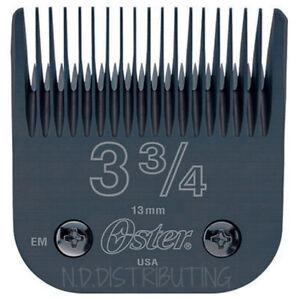Oster Titan # 3 3/4 Diamox Detachable Clipper Blade #76918-806 76, Powerline