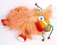 "Cirque Du Soleil Dralion 13"" Plush Orange Stuffed Toy Chinese Dragon Alice Doll"