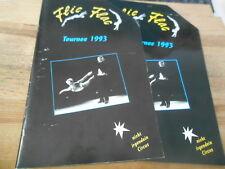 Sach Flic Flac Programmheft : Tournee 1993 (48 og) EIGENVERLAG + Mappe