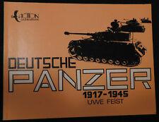 """Deutsche Panzer 1917-1945,by Uwe Feist.""""LIKE NEW""""!!!"""