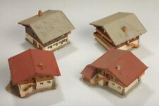 N CONJUNTO 4 Casa De Vivienda Bayern Suciedad/Defectos/desmontar