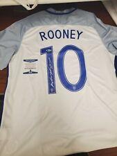 Wayne Rooney Signed England Jersey Beckett COA Nike Dri Fit