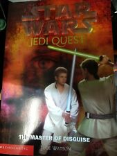 Star Wars Jedi Quest # 4  The Master of Disguise by Jude Watson 0439339200