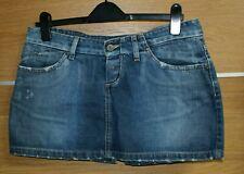 LEE blue jeans mini skirt size 12