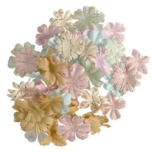 Pastel Printed Petal 65/pk - Darice Floral Embellishment Flower Layers #30062038