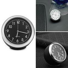 Durable Mini Car Auto Digital Quartz Clocks Pointer Luminous Light Mechanics MN
