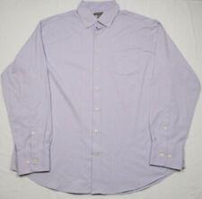 Peter Millar Summer Comfort Mens XL Light Purple Dress Shirt L/S Button Down