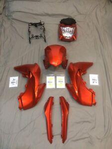 NEW KAWASAKI Z125 pro OEM Stock plastics color Z125 Fairings (Orange)