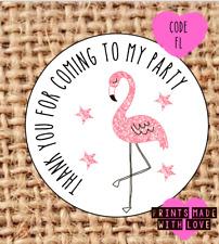 Flamingo party stickers | hen do stickers | read description | 24 | FL |