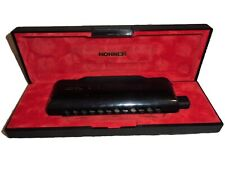 Estate Hohner 7545/48 CX12 Black Harmonica with case Made in Germany M754500 and