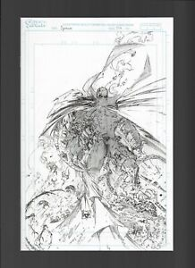 SPAWN #314 CAPULLO 1:50 RAW PENCILS VARIANT 2021 IMAGE COMICS