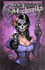 LADY MECHANIKA: LA DAMA DE LA MUERTE #2. STUNNING COVER B. 1ST PRINT NOV 16 NM/M