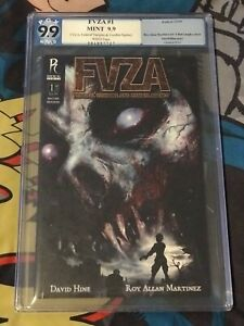 FVZA: FEDERAL VAMPIRE AND ZOMBIE AGENCY #1 not CGC PGX 9.9 MINT Radical VARIANT