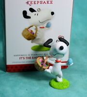 Hallmark Peanuts Snoopy It's The Easter Beagle Christmas Ornament 2014