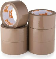 WOLF BROWN PACKING TAPE 48mm x 66m Packaging Parcels Boxes Cartons