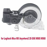 Metall Maus Rolle Scrollen Rad Für Logitech Mice MX Anywhere2 2S G9X M905 M560