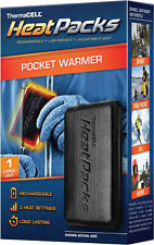 ThermaCell Heat Packs Hand/Pocket Warmer LARGE Rechargeable/Adjustable