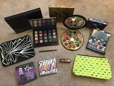 Urban Decay 3 Eye Palettes - VICE 4, ELEMENTS & SHADOW BOX + Stash Bag & Samples