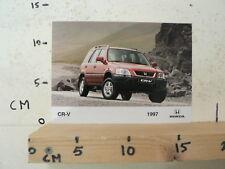 AF074-PHOTO FACTORY ? HONDA CR-V 1997 AUTO CAR