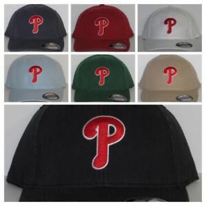 "Philadelphia Phillies ""FLEX FIT"" Cap ⚾Hat ⚾CLASSIC MLB PATCH/LOGO ⚾2 Sizes ⚾NEW"