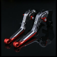Brake Clutch Levers For KAWASAKI ZZR1200 2002-2005 Adjustable Folding Extending