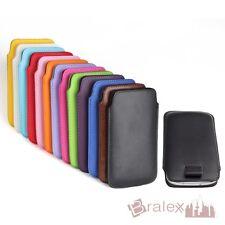 Kunstledersocke für Sony Tasche Cover Case Handytasche Socke Hülle Schutzhülle