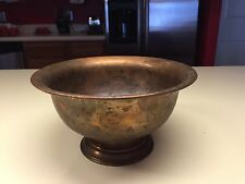 Old Vtg Collectible Copper Bowl Kitchen Metalware