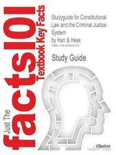 Constitutional Law and the Criminal Justice System by Cram101 Textbook...