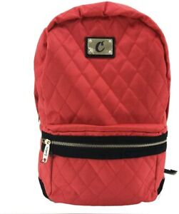Cookies SF V3 Quilted Nylon Smell Proof Odor Proof Backpack - Red