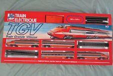 W354 JOUEF HO COFFRET TGV Ref 7834 COMPLET BEL ETAT 1980 1,8 x 0,8 m