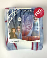 NEW FROZEN 2 ELSA ULTRA SILKY SOFT THROW BLANKET Live Your Truth Christmas Gift