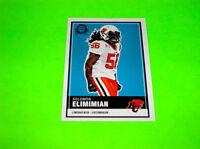 BC LIONS SOLOMON ELIMIMIAN OPC UPPER DECK CFL FOOTBALL CARD 3