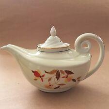 Hall's Aladdin Teapot Dunbar Jewel Autumn Leaf 40's Superior Quality Kitchenware