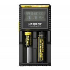 Nitecore D2 Digicharger LCD 1865018350 16340 14500 IMR universal smart Charger